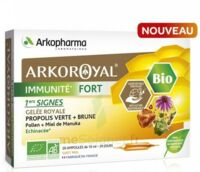 Arkoroyal Immunité Fort Solution buvable 20 Ampoules/10ml à ROMORANTIN-LANTHENAY