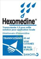 HEXOMEDINE TRANSCUTANEE 1,5 POUR MILLE, solution pour application locale à ROMORANTIN-LANTHENAY