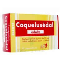 COQUELUSEDAL ADULTES, suppositoire à ROMORANTIN-LANTHENAY