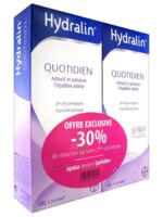 Hydralin Quotidien Gel lavant usage intime 2*200ml à ROMORANTIN-LANTHENAY