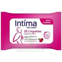 Intima Gyn'Expert Lingettes Cranberry Paquet/30